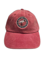 Preppy Hats available in Washed Crimson