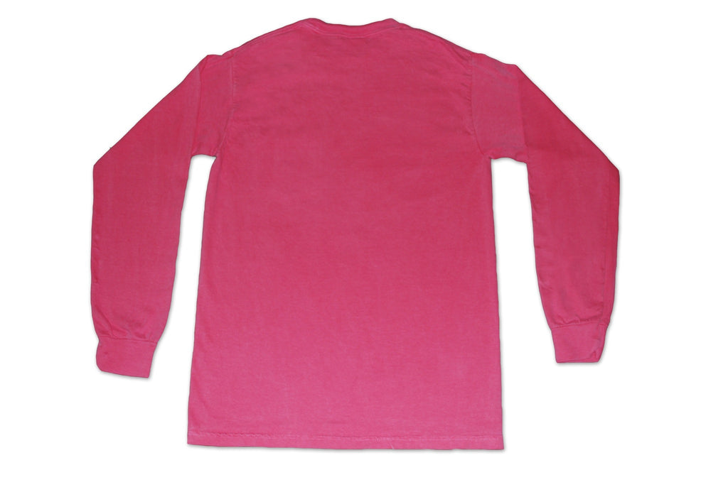 Long Sleeve Pocket Tee - Roseate Pink - Bayview Prep