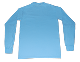 T-Shirts - Long Sleeve Pocket Tee - Skyway Blue