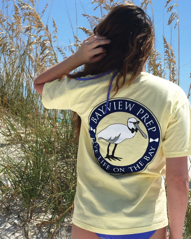Anchor Shirt in Yellowtail