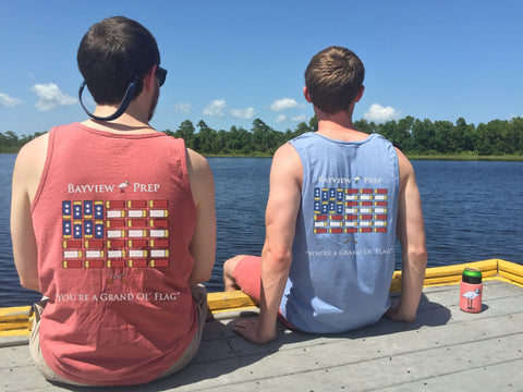 Pair your Preppy Hat with our Patriotic Tank
