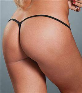 espiral Wet Black Y-Back Thong G-String Panty Bottom (Many Color Available) Apparel & Accessories > Clothing > Underwear & Socks > Underwear
