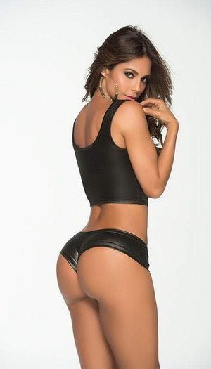 mapale Black Stretchy And Comfy Boyshort (White, Wet Black, Wet Green, Wet Orange, Wet Pink, Wet Orange Colors Available) Apparel & Accessories > Clothing > Underwear & Socks > Underwear