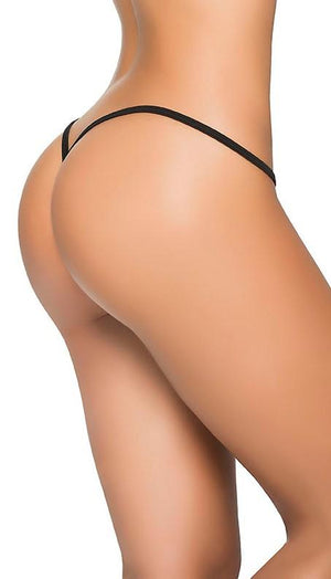 mapale Black Y-Back Thong (Many colors available) Apparel & Accessories > Clothing > Underwear & Socks > Underwear