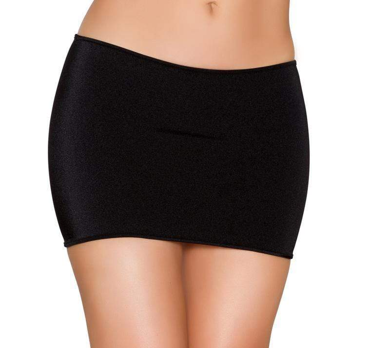 Roma One Size / Black Black Lycra Mini Skirt (Red & Turquoise also available) SHC-SK105-BLACK-OS-R Lycra Mini Skirt Festival Dance Rave Roma SK105 Apparel & Accessories > Clothing > Skirts
