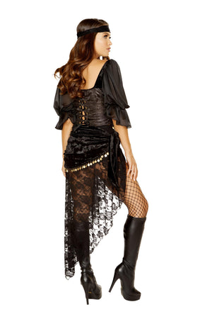 Roma 5pc Gypsy Maiden Apparel & Accessories > Costumes & Accessories > Costumes