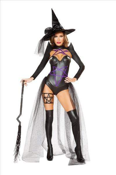 Roma DARK WITCH COSTUME Apparel & Accessories > Costumes & Accessories > Costumes