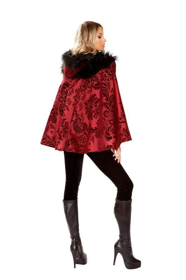 Roma Small / Multi Four Piece Little Dark Red SHC-4937-S-R Apparel & Accessories > Costumes & Accessories > Costumes