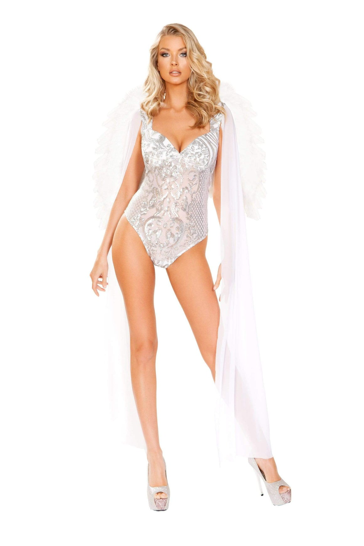 Roma Medium / White One Piece Angel From Heaven SHC-4913-M-R Apparel & Accessories > Costumes & Accessories > Costumes