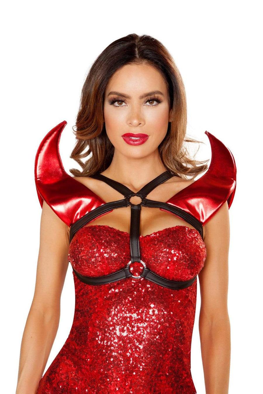Roma ONE SIZE DEVILISH HORN HOLSTER SHC-4811-R Apparel & Accessories > Costumes & Accessories > Costumes