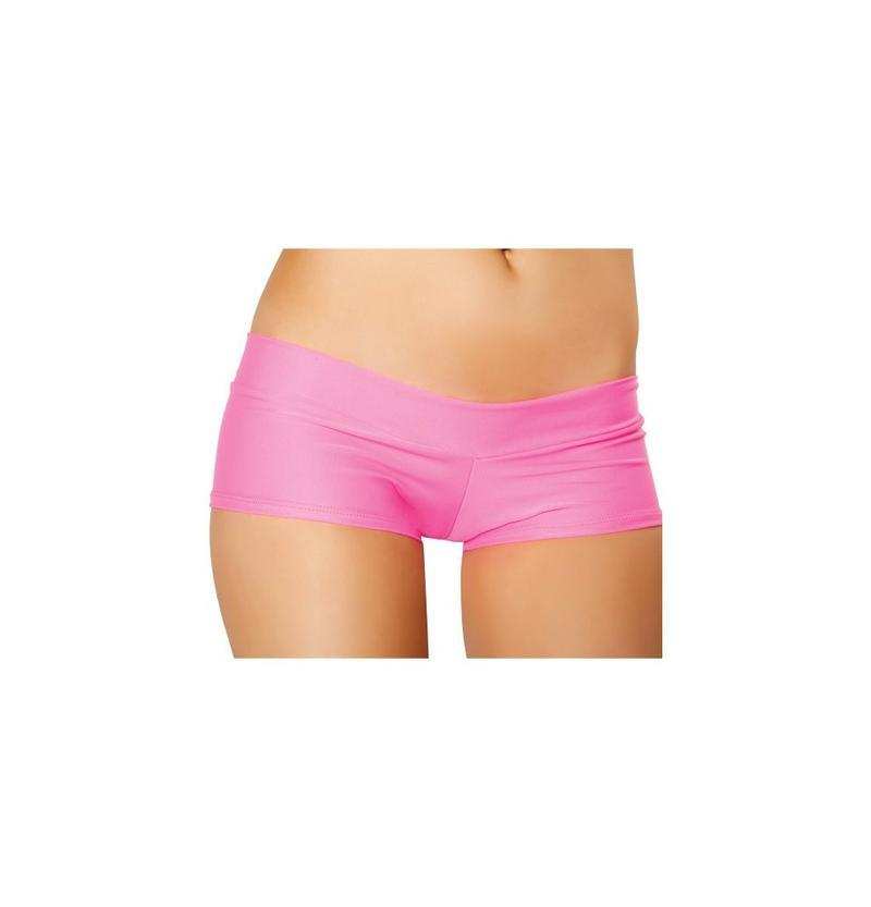Roma One Size / Pink Pink Banded Lycra Short (Red & Turquoise also available) SHC-SH112-PINK-OS-R Banded Lycra Short Festival Rave Dance Roma SH112 Apparel & Accessories > Costumes & Accessories > Costumes