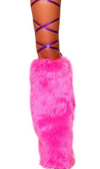 Roma ONE SIZE / PURPLE Purple Metallic Thigh Leg Stretch Wraps EDM Dance Rave Wear SHC-3022-PURPLE-R Apparel & Accessories > Costumes & Accessories > Costumes