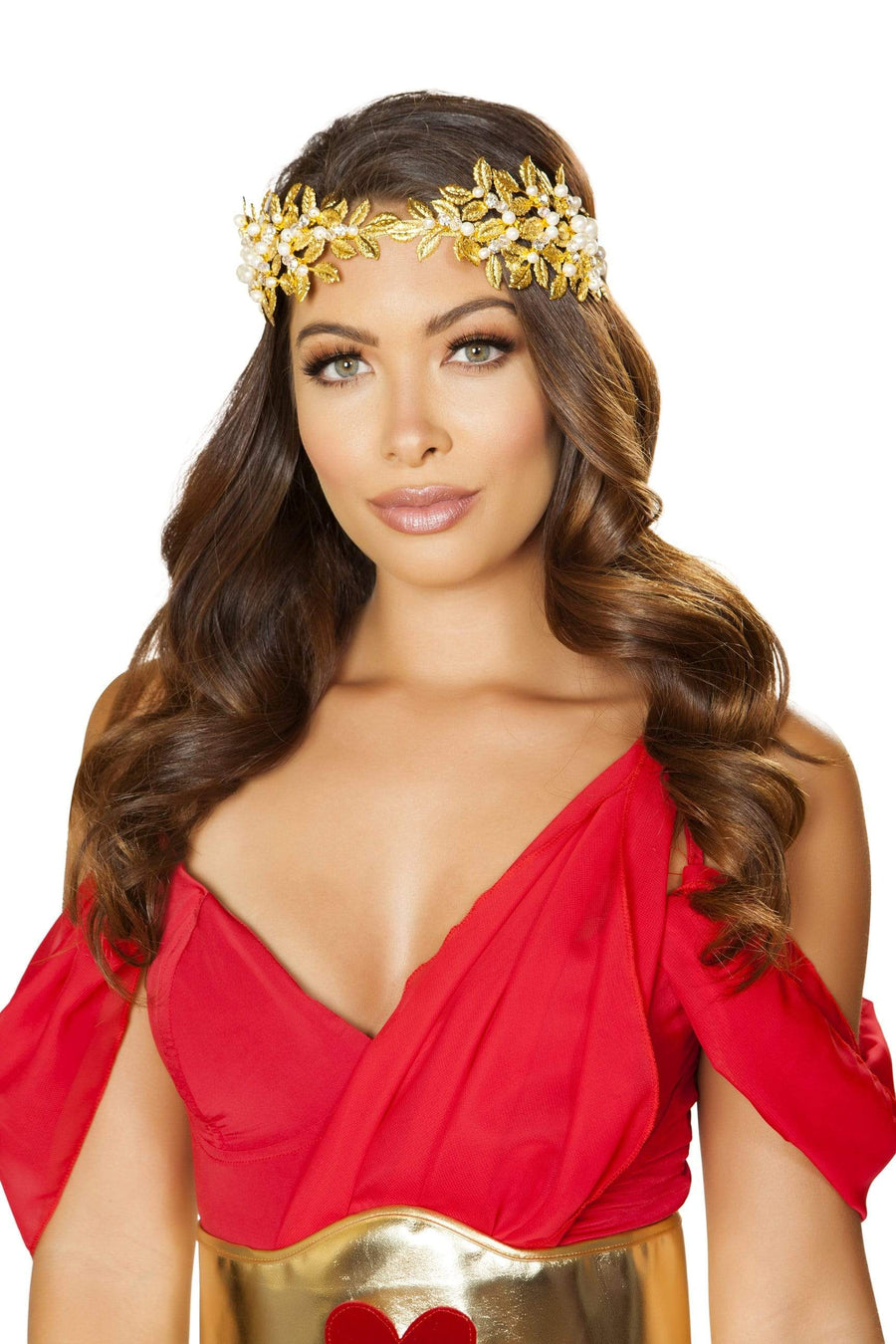 Roma OS / Gold Goddess Headband SHC-4878-S-R Apparel & Accessories > Costumes & Accessories > Costumes