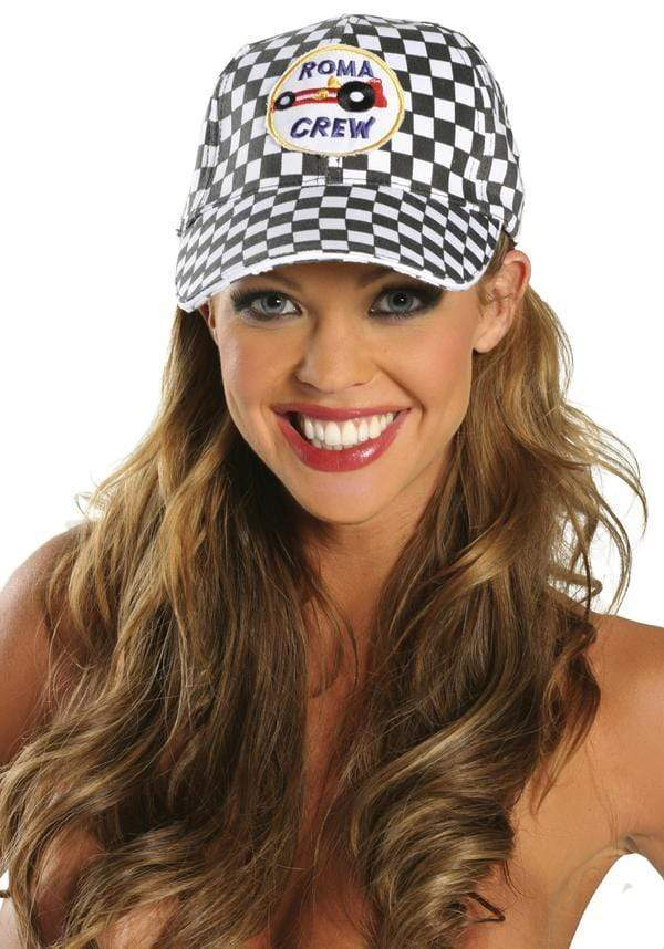 Roma OS / Print Racing Cap SHC-H100-OS-R Apparel & Accessories > Costumes & Accessories > Costumes