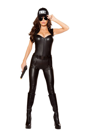 Roma Small 2PC SWAT COMMANDER SHC-10066-S-R Apparel & Accessories > Costumes & Accessories > Costumes