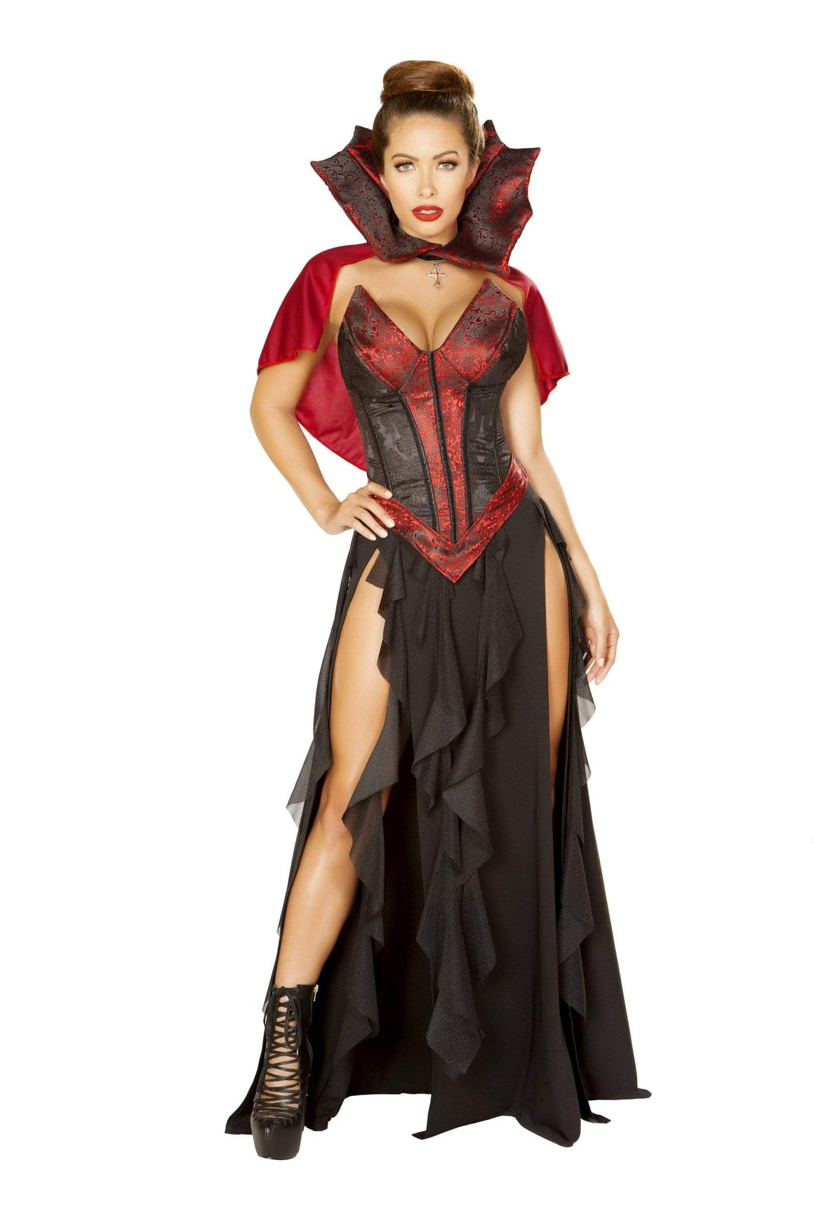 Roma Small / Black 3pc Blood Lusting Vampire SHC-4864-S-R Apparel & Accessories > Costumes & Accessories > Costumes