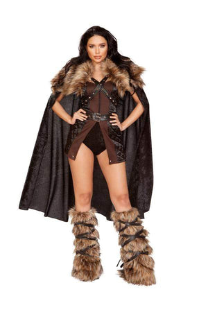 Roma Small / Black Four Piece Northern Warior SHC-4896-S-R Apparel & Accessories > Costumes & Accessories > Costumes