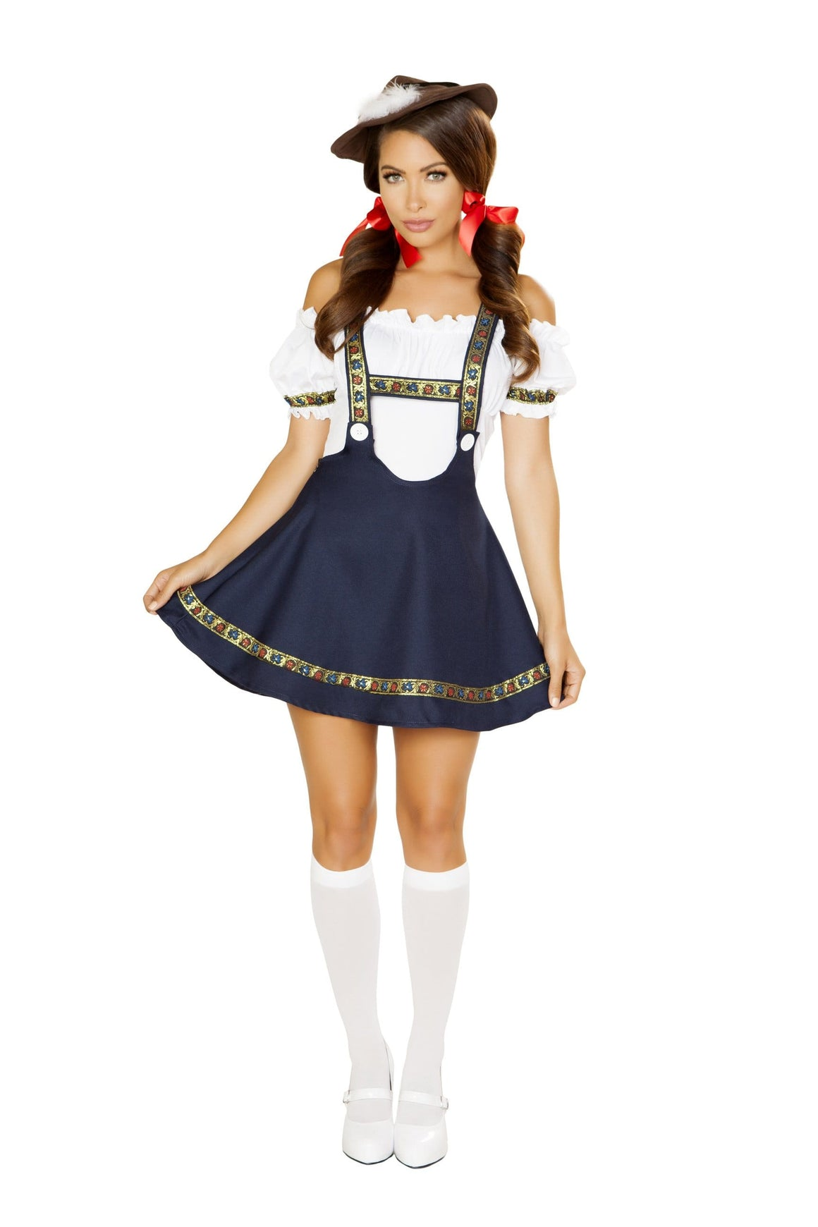 Roma Small / Blue 3pc Bavarian Beauty SHC-4884-S-R Apparel & Accessories > Costumes & Accessories > Costumes
