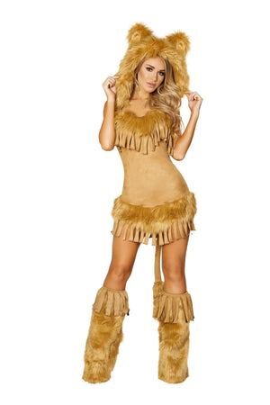 Roma Small / Brown Bashful Lion Costume SHC-4872-S-R Apparel & Accessories > Costumes & Accessories > Costumes