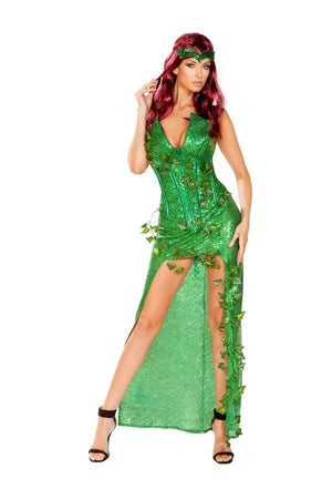 Roma Small / Green Three Piece Ivy Lover SHC-4906-S-R Apparel & Accessories > Costumes & Accessories > Costumes