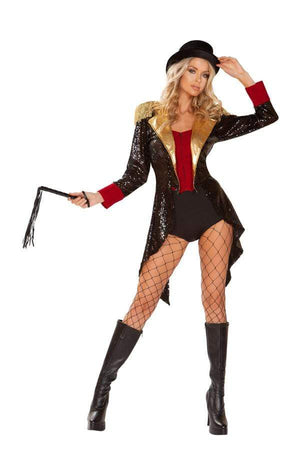 Roma Small / Multi Four Pieces Ringmaster Of Circuses SHC-4940-S-R Apparel & Accessories > Costumes & Accessories > Costumes