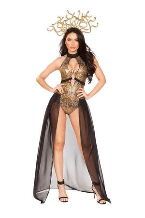 Roma Small / Multi Three Piece Medusa Snake Lover SHC-4932-S-R Apparel & Accessories > Costumes & Accessories > Costumes