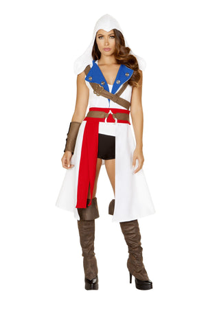 Roma Small / Multicolor 5pc The Assassins Pretector SHC-4843-S-R Apparel & Accessories > Costumes & Accessories > Costumes