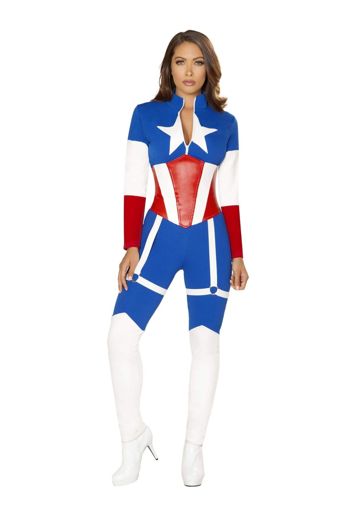 Roma Small / Multicolor American Commander Costume, 2 pc, Roma 4852 SHC-4852-S-R Apparel & Accessories > Costumes & Accessories > Costumes