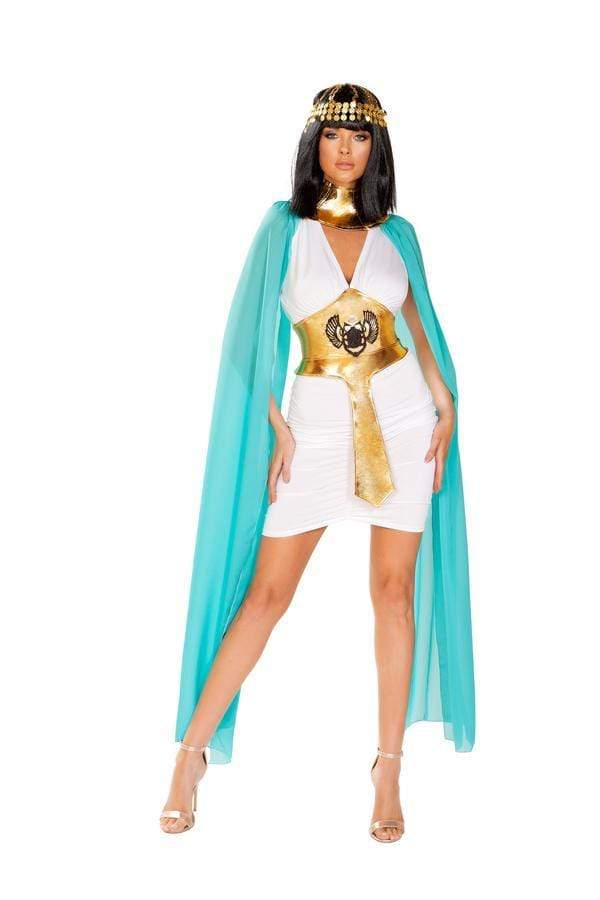 Roma Small / Print Three Piece Egyptian Warior Queen SHC-4926-S-R Apparel & Accessories > Costumes & Accessories > Costumes