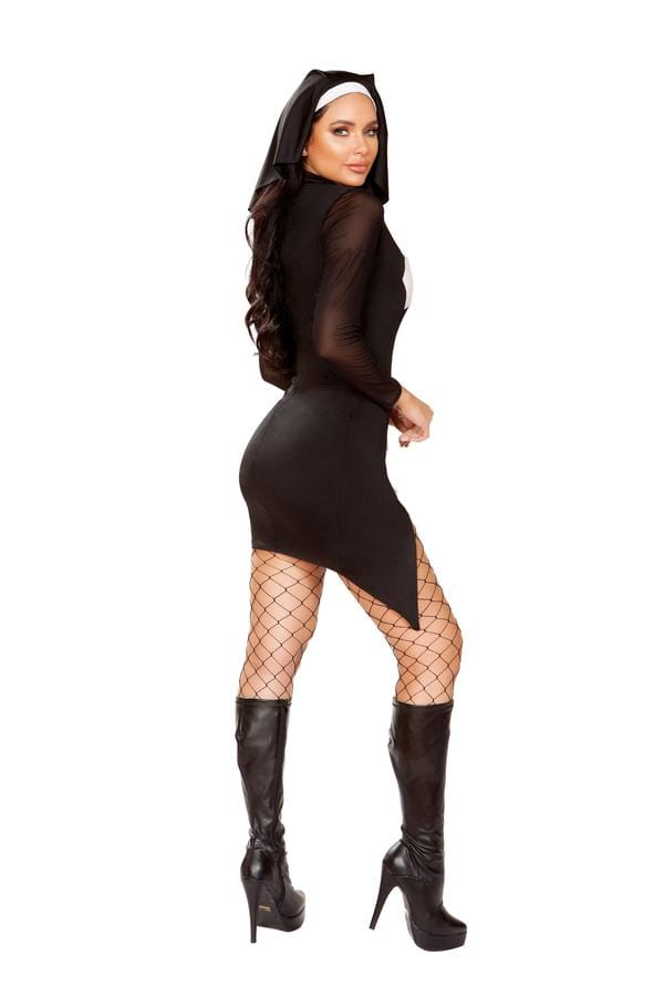 Roma S/M / Black Two Piece Loving Nun SHC-4916-S/M-R Apparel & Accessories > Costumes & Accessories > Costumes