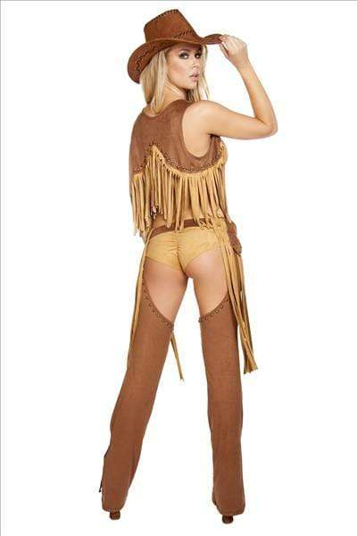 Roma Wild Western Temptress Cowgirl Costume Wild Western Temptress Cowgirl Costume | ROMA COSTUME 4584 Apparel & Accessories > Costumes & Accessories > Costumes