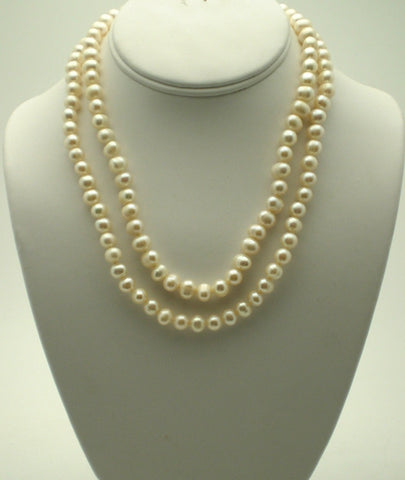 2 Strand (Double Strand) Freshwater Pearls
