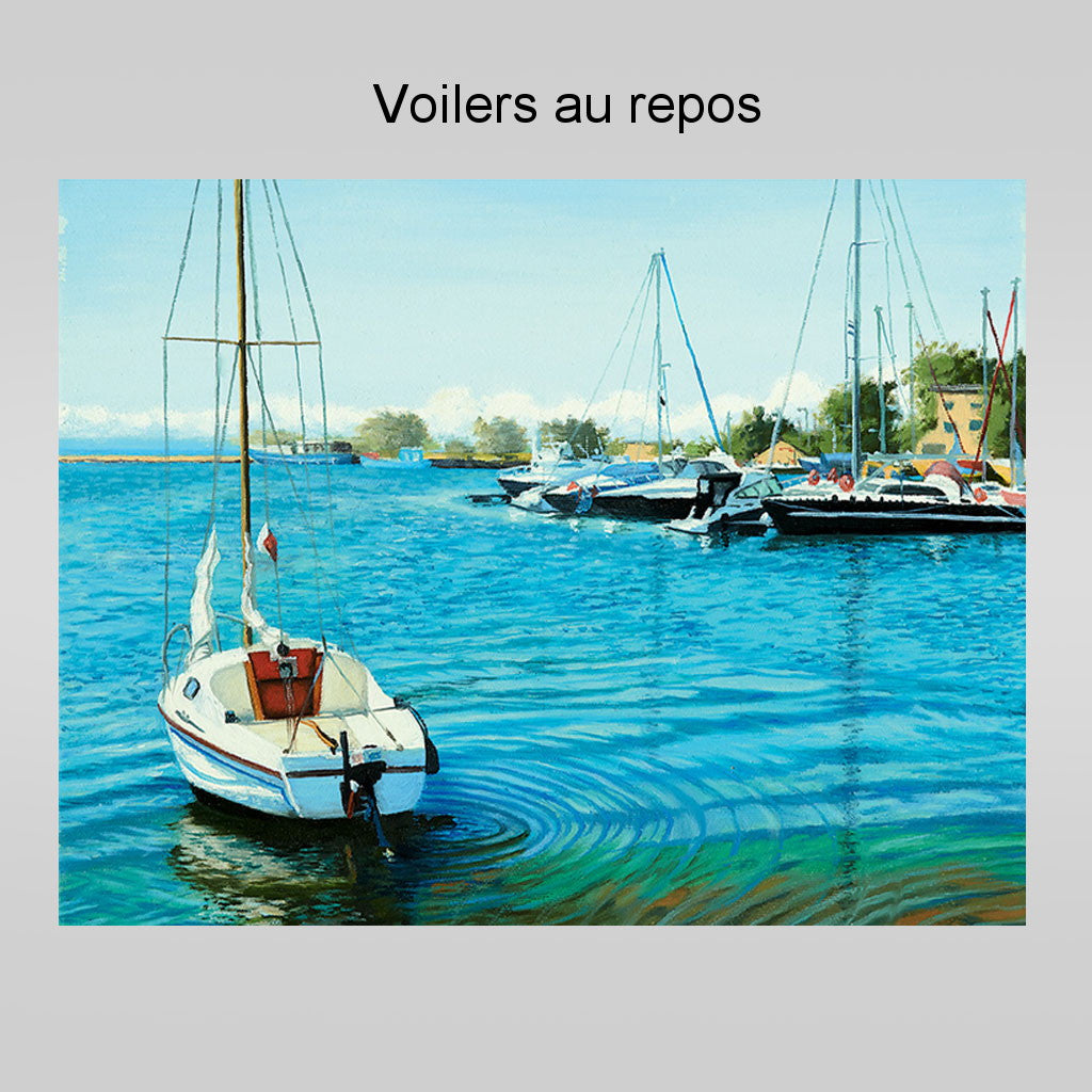 Reproductions d'oeuvres d'art No. 1 - Ensemble de 4