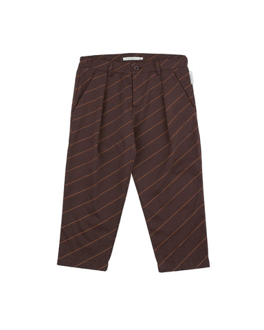 Diagonal Stripes Pants
