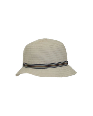White Woven Hat