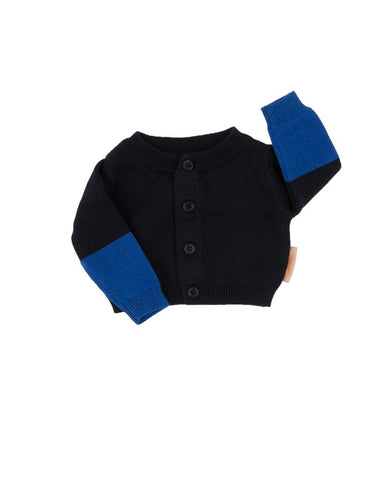 Color Block Baby Cardigan
