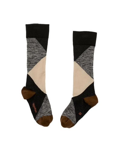 Geometric High Socks