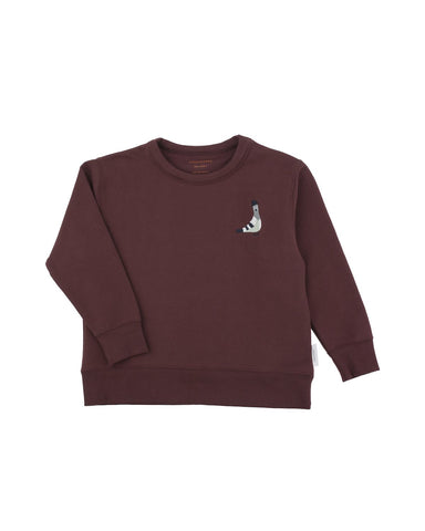 Pigeon Graphic Sweatshirt