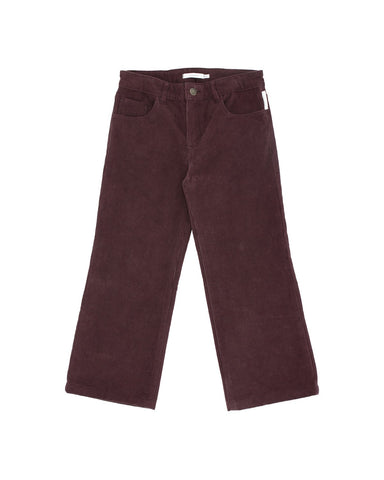 Solid Corduroy Pants