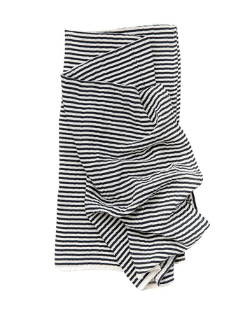 Black & White Stripe Swaddle