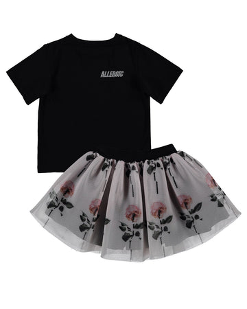 Allergic Tes Skirt Set