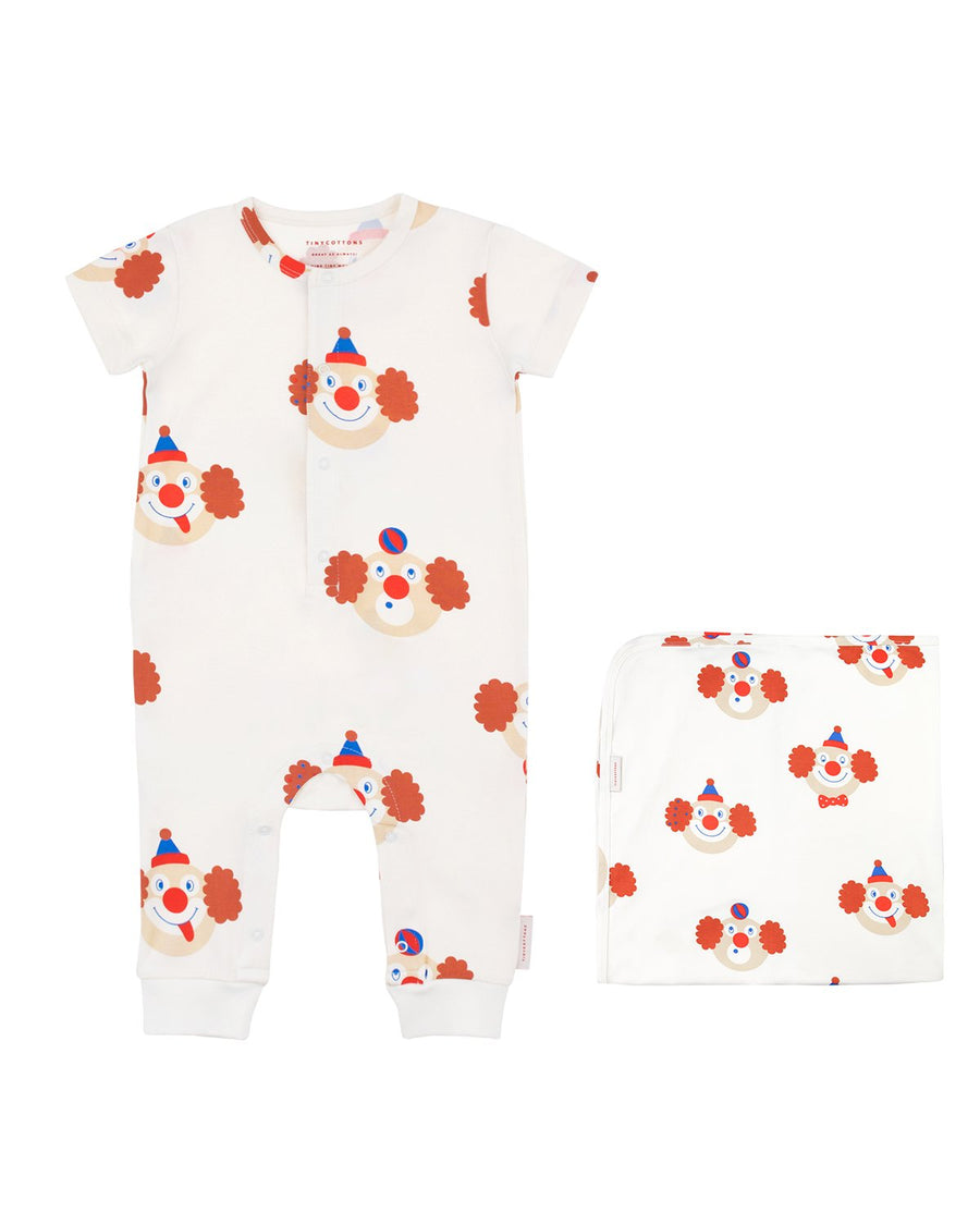 Clowns Baby Gift Set