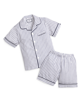 French Ticking Short Set