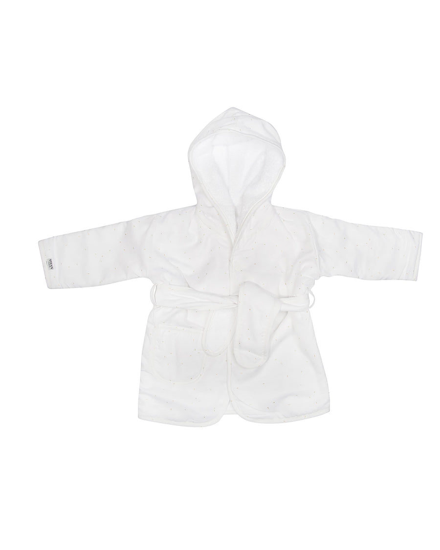 Gold Blossom Bathrobe 1-2Y