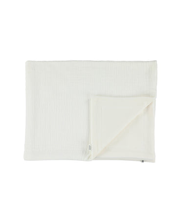 Bliss White Fleece Blanket