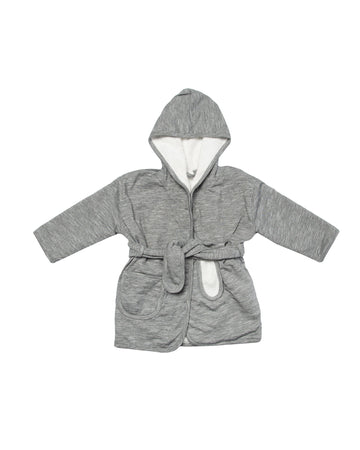 Slim Stripes Bathrobe 3-4Y