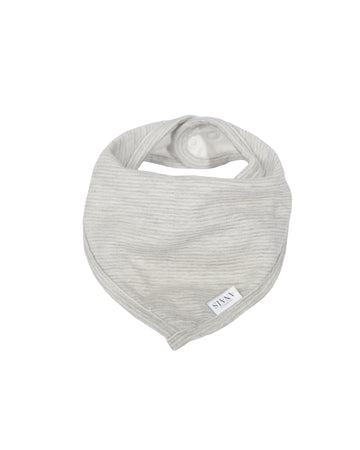 Powder Stripes Bandana Bib