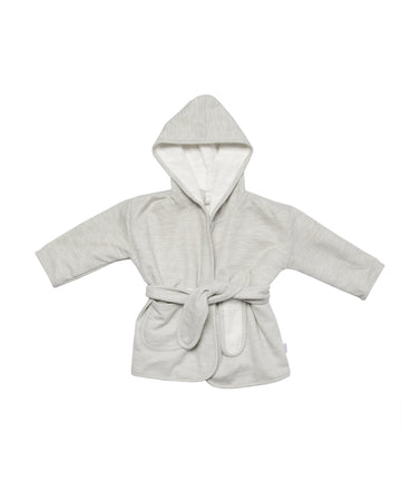 Powder Stripes Bathrobe 1-2Y