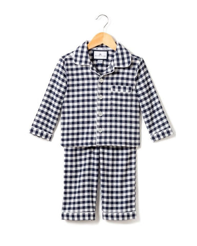 Gingham Pajamas