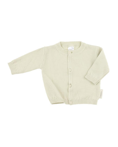 Solid Knit Baby Cardigan